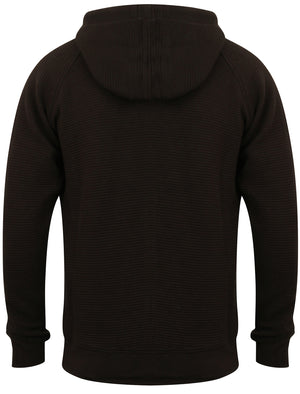 Alfar Ottoman Zip Through Hoodie in Jet Black – Dissident