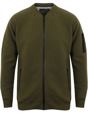 Anka Ottoman Fleece Bomber Jacket in Amazon Khaki – Dissident
