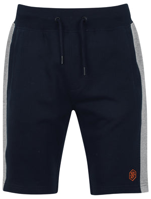Araki Jogger Shorts with Side Stripe detail In Dark Sapphire – Dissident
