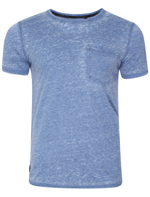 Burn3 Burnout T-Shirt in Federal Blue - Dissident