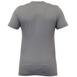 Dissident T-shirt with front pocket in grey