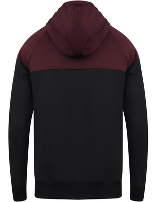 Filson Colour Block Pullover Tricot Hoodie In Winetasting – Dissident