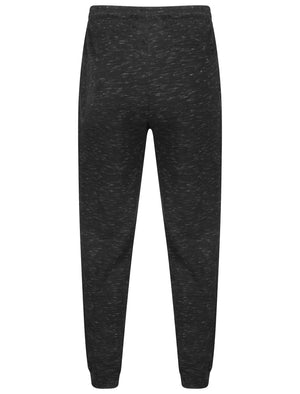 Foreman Space Dye Cuffed Joggers in Black – Dissident