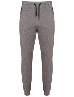Foreman Space Dye Cuffed Joggers in Mid Grey Marl – Dissident