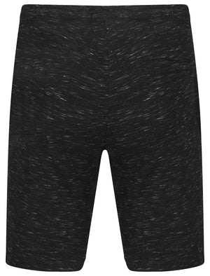 Forset Space Dye Sweat Shorts In Black – Dissident