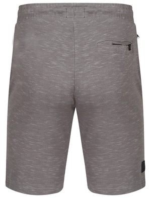 Forset Space Dye Sweat Shorts In Mid Grey Marl – Dissident