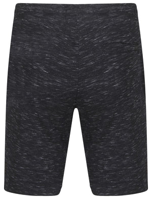 Forset Space Dye Sweat Shorts In Navy – Dissident