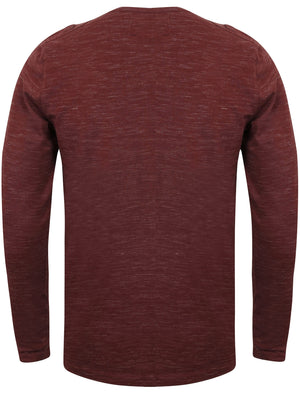 Helter Mock Insert Long Sleeve Top in Mulled Wine – Dissident