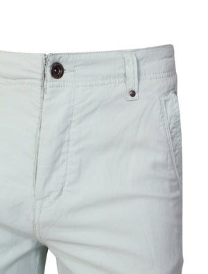 Luther Corduroy Turnup Hem Shorts in Harbor Gray - Dissident