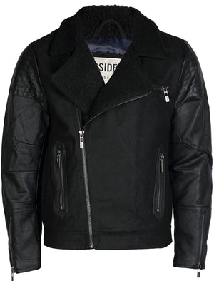 Maguire Sherpa Collar Aviator Jacket