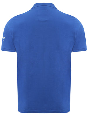 Manor polo shirt in blue - Dissident