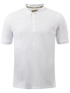 Manor polo shirt in white - Dissident