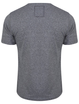 NIY Yarn Dyed T-shirt in Mood Indigo Grindal - Dissident