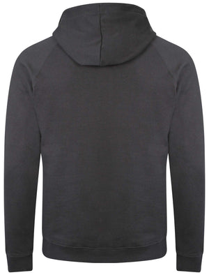 Dissident Owen dark blue zip through hoodie
