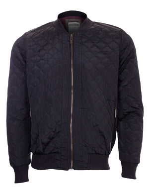 Men's Dissident Rodney Bomber Jacket in Black