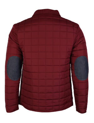 Mens Dissident Serge Padded Red Jacket