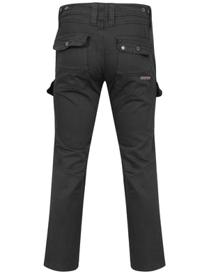 Stallone Cargo Trousers in Black – Dissident