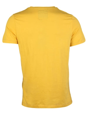 Virginia T-Shirt in Yolk Yellow - Dissident