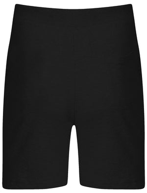 Mens Jeremy Sweat Shorts with Pockets in Black