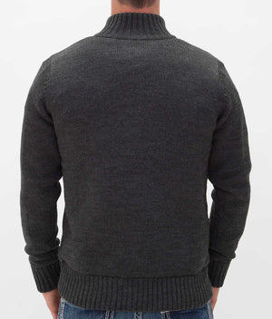 Kensington Estate Ashville Charcoal Chunky Knit Cardigan