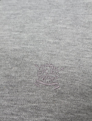 Brydges Polo Shirt in Grey Marl – Kensington Eastside