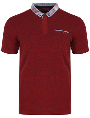 Carndale Polo Shirt in Red - Kensington Eastside
