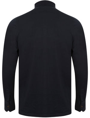 Hercules Long Sleeve Polo Shirt in True Navy – Kensington Eastside
