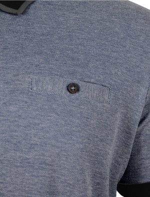 Buckley Polo Shirt in Black - Le Shark
