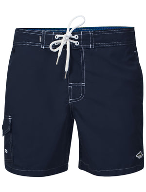 Juanita Swim Shorts in Midnight Blue – Le Shark