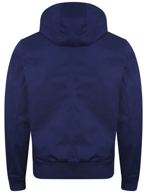Le Shark Azow blue hooded jacket