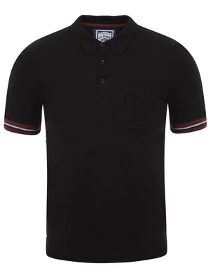 Men's Le Shark Piers Black Polo Shirt