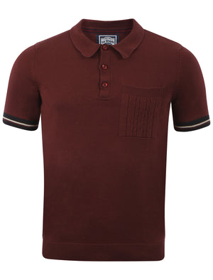 Men's Le Shark Piers Oxblood  Polo Shirt