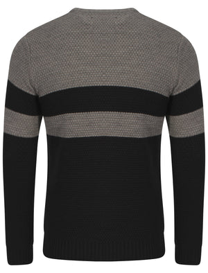 Le Shark Adu black & grey jumper