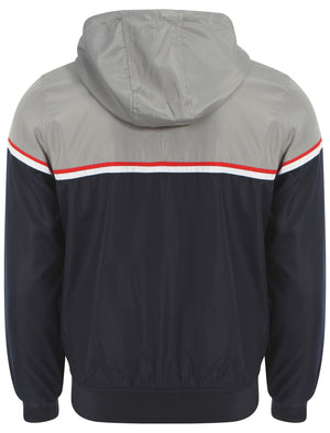 Le Shark Avory grey bomber jacket