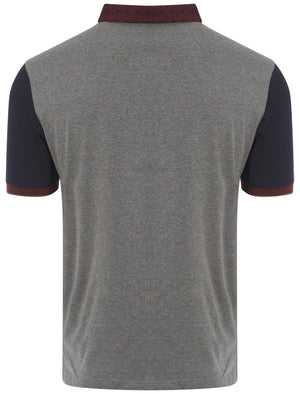 Le Shark Bingham polo shirt in grey