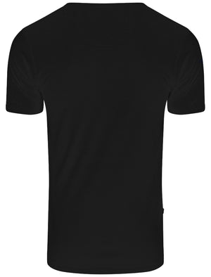 Men's Basic V-neck black T-shirt – Le Shark