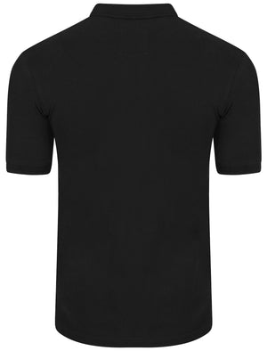 Byland 2 Piqué Polo Shirt in Black - Le Shark
