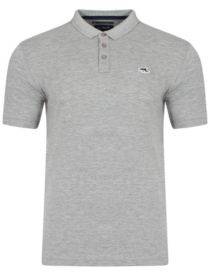 Byland Polo Shirt in Grey Marl – Le Shark