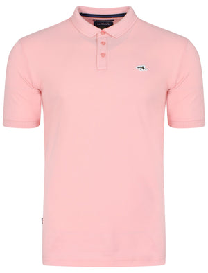Byland Polo Shirt in Pastel Pink – Le Shark