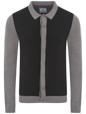 Le Shark Duncan grey cardigan