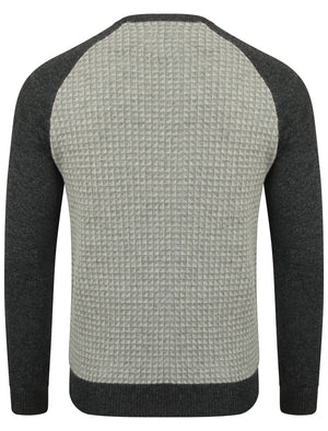 Le Shark Jepson charcoal lambswool jumper