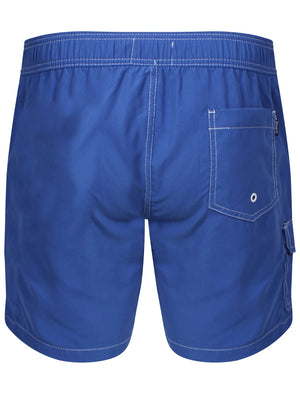 Juanita Swim Shorts in Vespa Blue – Le Shark