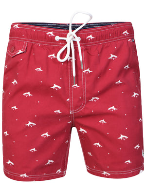 Legion Swim Shorts in Sangria Red – Le Shark