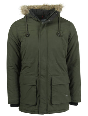 Le Shark Radley green parka jacket