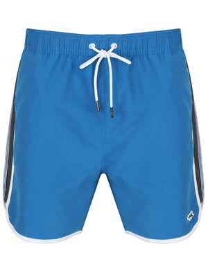 Stanford Runner Swim Shorts In Turkish Blue – Le Shark