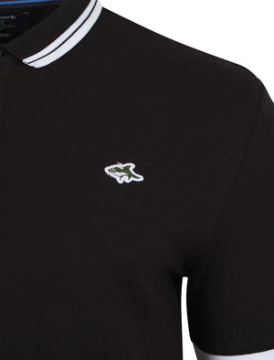 Stibbington Polo Shirt in Black – Le Shark