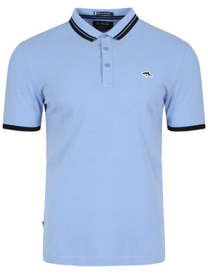 Stibbington Polo Shirt in Blue – Le Shark