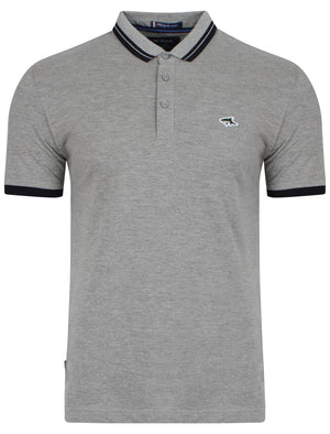 Stibbington Polo Shirt in Grey Marl – Le Shark