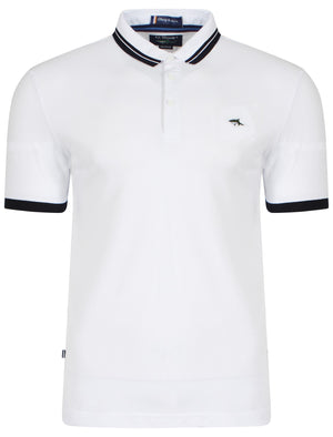 Stibbington Polo Shirt in White – Le Shark