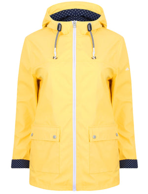 Puffin Shower Resistant Hooded Rain Coat in Banana Cream – Northern Expo